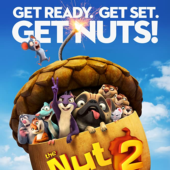 Jackie Chan, Katherine Heigl, Will Arnett, Jeff Dunham, Gabriel Iglesias, Tom Kenny, Maya Rudolph, Kari Wahlgren, and Sebastian Maniscalco in The Nut Job 2: Nutty by Nature (2017)