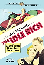 The Idle Rich Poster