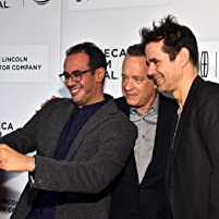 Tom Hanks and Tom Tykwer at an event for A Hologram for the King (2016)