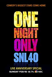 Saturday Night Live: 40th Anniversary Special Poster