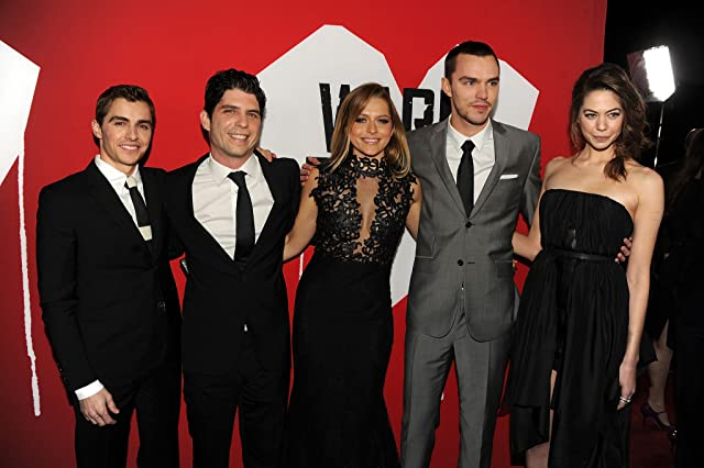 Nicholas Hoult, Jonathan Levine, Teresa Palmer, Dave Franco, and Analeigh Tipton at an event for Warm Bodies (2013)