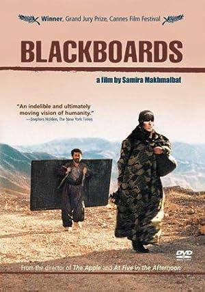 Blackboards poster