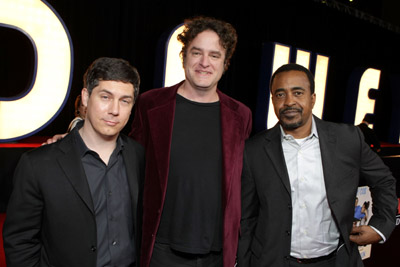 Tim Meadows, Matt Besser, and Chris Parnell at Walk Hard: The Dewey Cox Story (2007)
