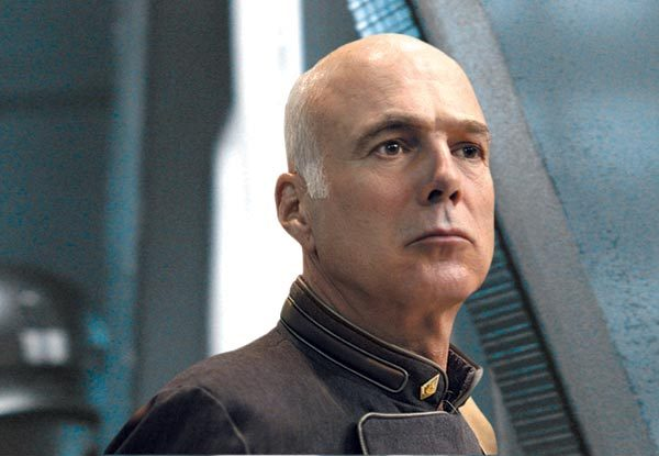 Michael Hogan in Battlestar Galactica: The Plan (2009)