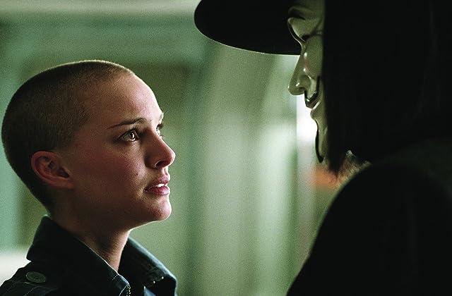 Natalie Portman and Hugo Weaving in V for Vendetta (2005)