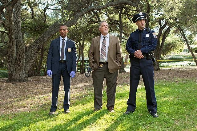 Jordan Bridges, Bruce McGill, and Lee Thompson Young in Rizzoli & Isles (2010)