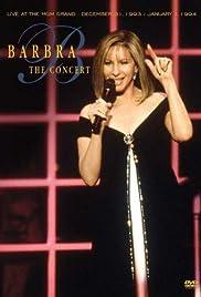Barbra: The Concert Poster