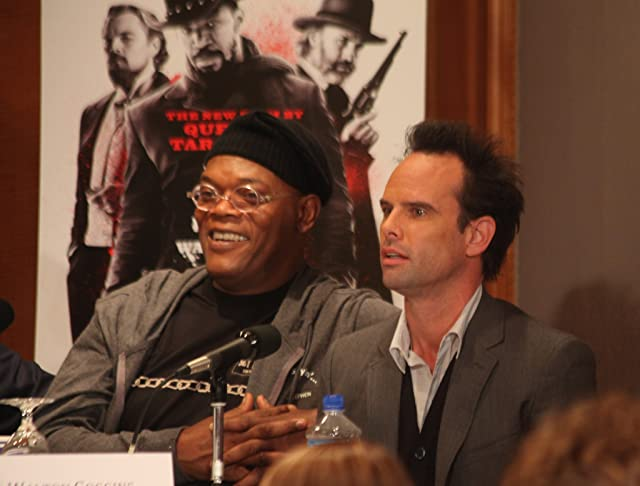 Samuel L. Jackson and Walton Goggins at Django Unchained (2012)