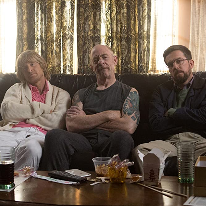 Owen Wilson, J.K. Simmons, and Ed Helms in Father Figures (2017)