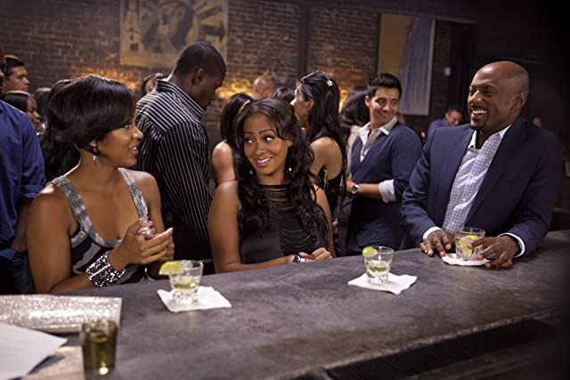Meagan Good, Romany Malco, and La La Anthony in Think Like a Man (2012)