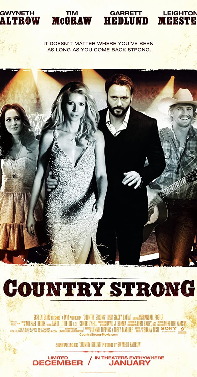 Meilė manęs neišduos / Country Strong (2010) Online