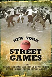 New York Street Games Poster