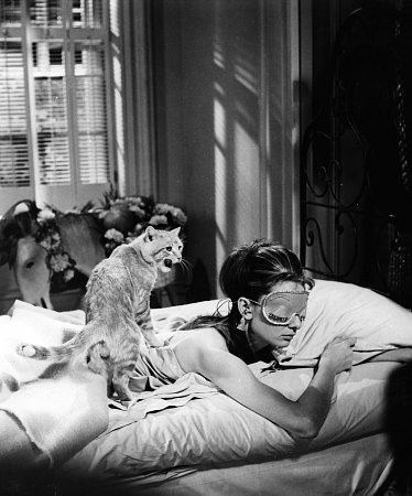 BREAKFAST AT TIFFANY'S Audrey Hepburn 1961 Paramount Picture