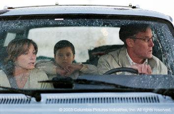 John C. McGinley, Leila Kenzle, and Bret Loehr in Identity (2003)