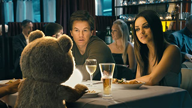 Mark Wahlberg and Mila Kunis in Ted (2012)