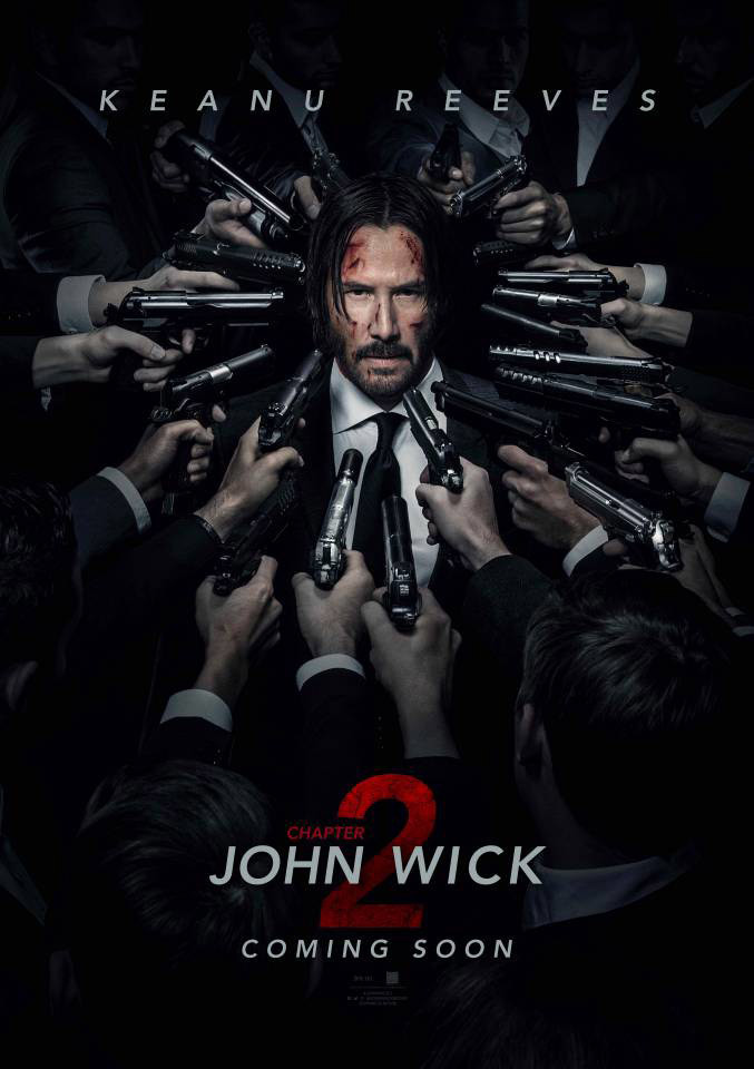 John Wick: Chapter 2 poster do filme