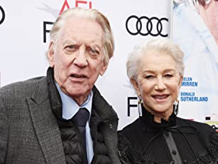 Helen Mirren and Donald Sutherland