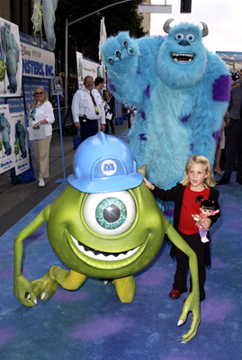 Mary Gibbs at Monsters, Inc. (2001)