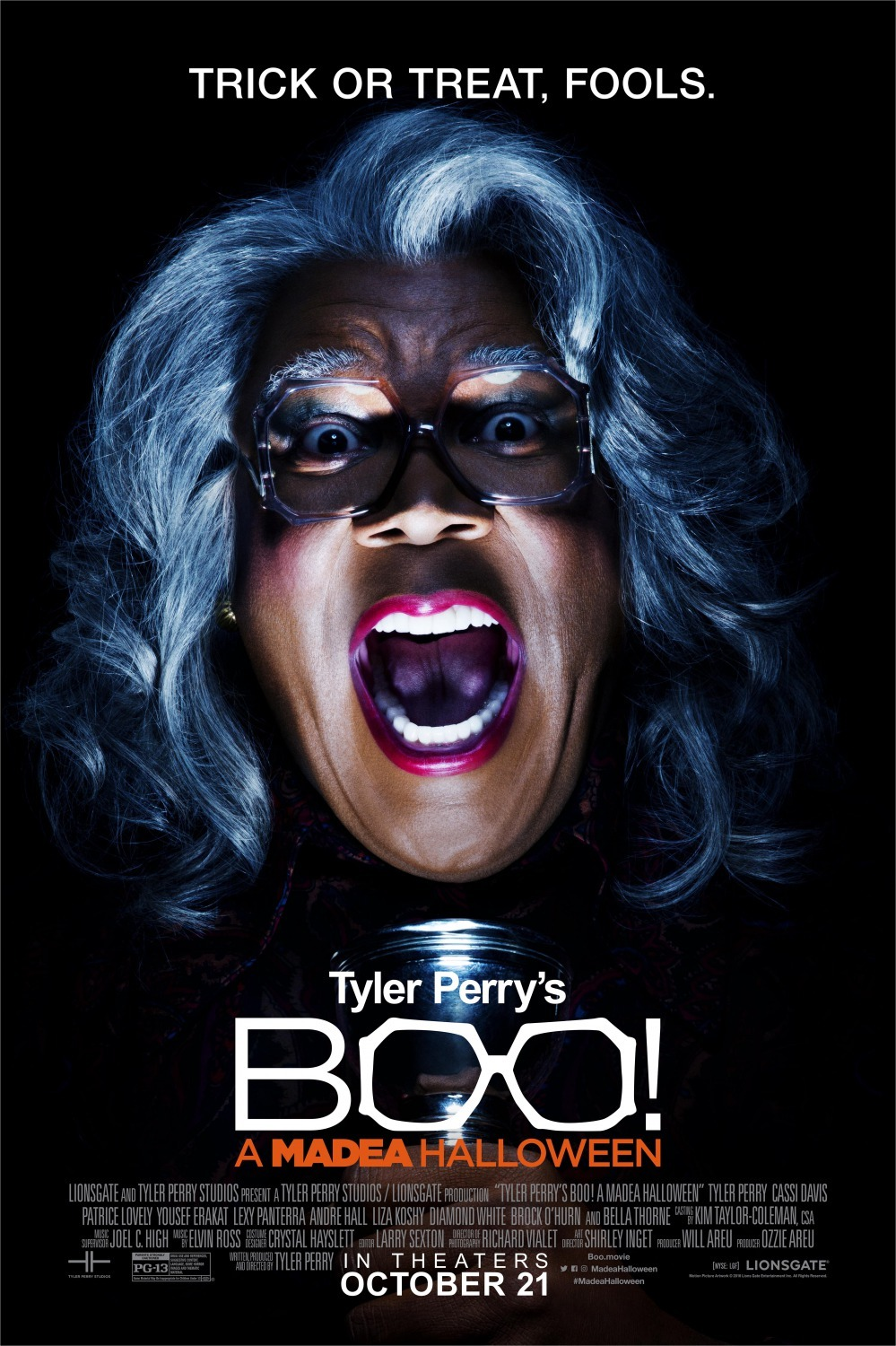 image Boo! A Madea Halloween Watch Full Movie Free Online