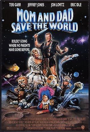 Poster Mom und Dad retten die Welt