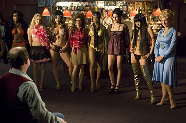 Gina Gershon, Bai Ling, Helen Mirren, and Scout Taylor-Compton in Love Ranch (2010)