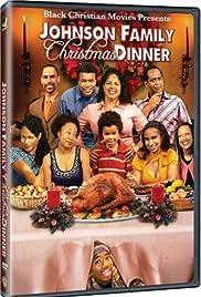 Johnson Family Christmas Dinner Poster