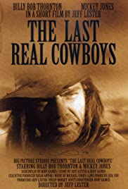 The Last Real Cowboys Poster