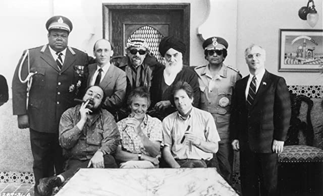 David Zucker, David Lloyd Austin, Prince Hughes, David Katz, Robert K. Weiss, Jerry Zucker, and Robert LuJane in The Naked Gun: From the Files of Police Squad! (1988)