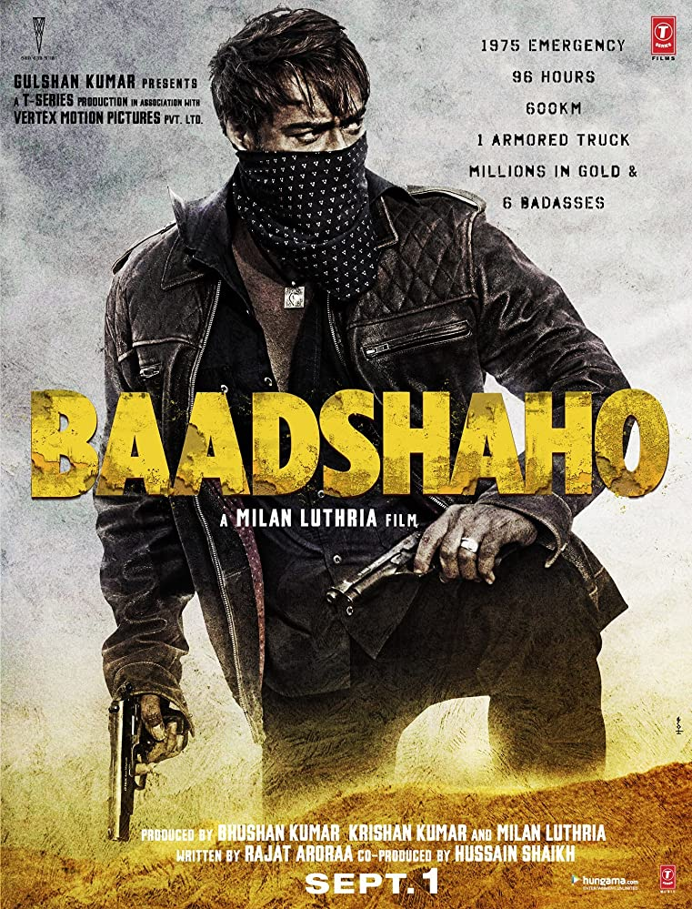 Baadshaho (2017) 720 Web Rip - x264 - 5.1 - [13] - E-Subs - DT One Exclusive