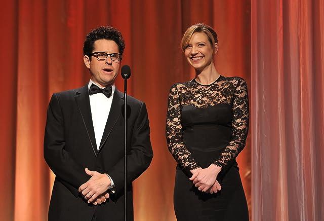 J.J. Abrams and Anna Torv