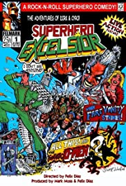 Superhero Excelsior Poster
