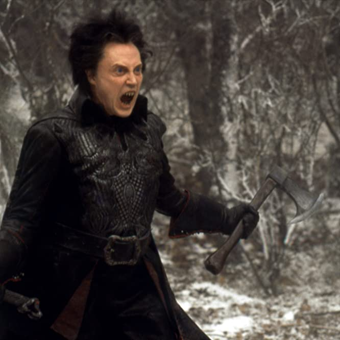 Christopher Walken and Sleepy Hollow