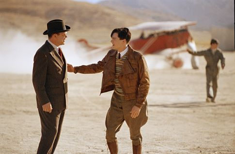 Leonardo DiCaprio and John C. Reilly in The Aviator (2004)