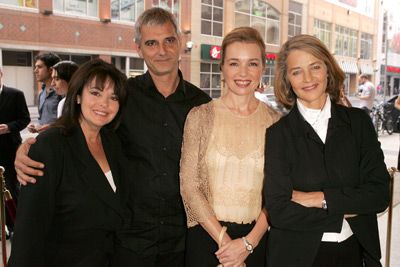 Charlotte Rampling, Laurent Cantet, Louise Portal, and Karen Young at Heading South (2005)
