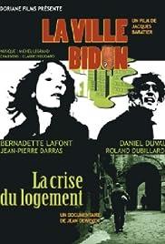 La ville-bidon Poster