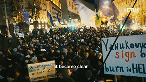 Winter on Fire: Ukraine's Fight for Freedom Poster · Trailer