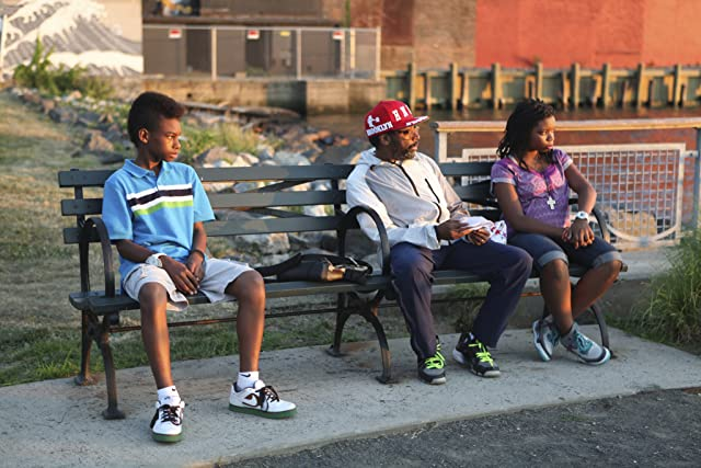 Spike Lee, Toni Lysaith, and Jules Brown in Red Hook Summer (2012)
