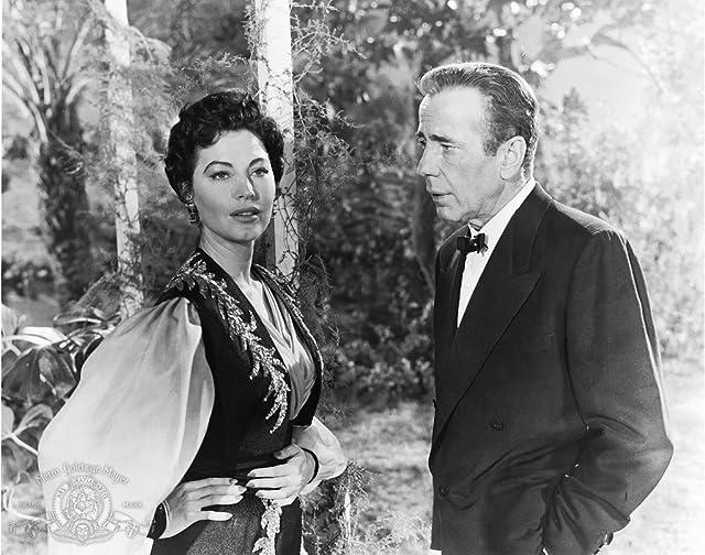 Humphrey Bogart and Ava Gardner in The Barefoot Contessa (1954)