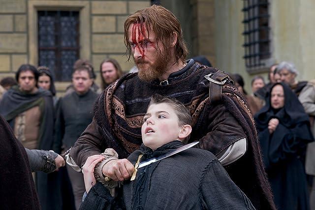Sean Harris and Nathan O'Toole in The Borgias (2011)
