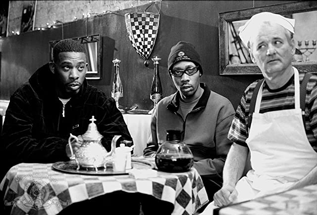 Bill Murray, RZA, and The GZA in Coffee and Cigarettes (2003)