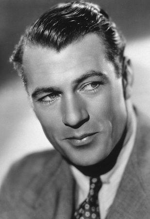 Gary Cooper, c. 1940.