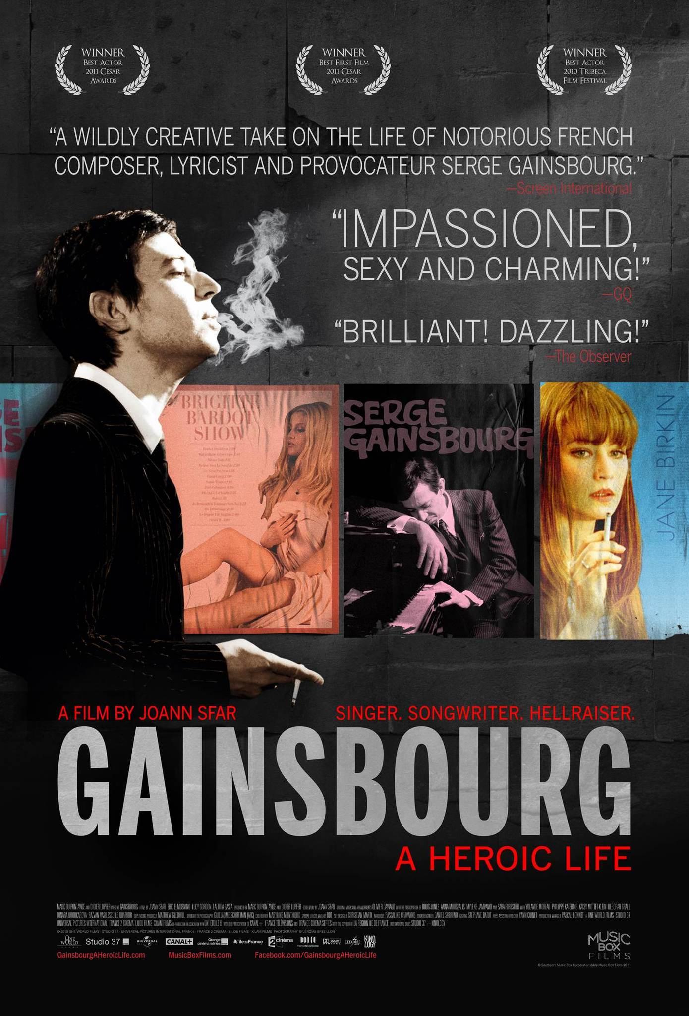image Gainsbourg (Vie héroïque) Watch Full Movie Free Online