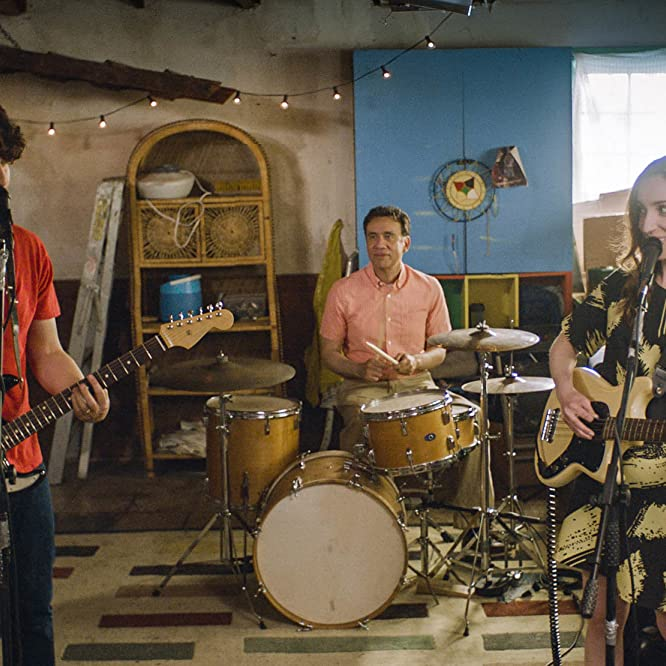 Fred Armisen, Adam Pally, and Zoe Lister-Jones in Band Aid (2017)