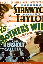 His Brother's Wife (1936) Poster - Movie Forum, Cast, Reviews