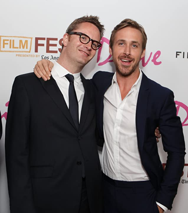Ryan Gosling and Nicolas Winding Refn at Drive (2011)