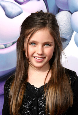 Ryan Newman at an event for Happily N'Ever After (2006)