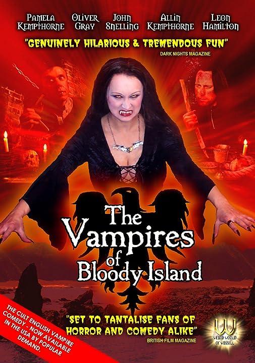 Allin Kempthorne, Leon Hamiliton, Pamela Kempthorne, John Snelling, and Oliver Gray in The Vampires of Bloody Island (2009)