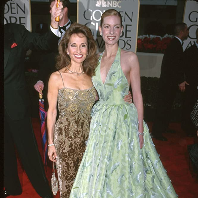 Liza Huber and Susan Lucci
