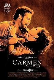 Carmen in 3D Poster