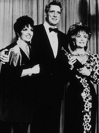 Liza Minnelli, Rock Hudson and Elizabeth Taylor C. 1985